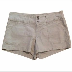 Old Navy Off White / Stone Colored Shorts